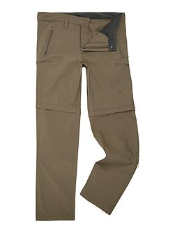 Exploration convertible trouser