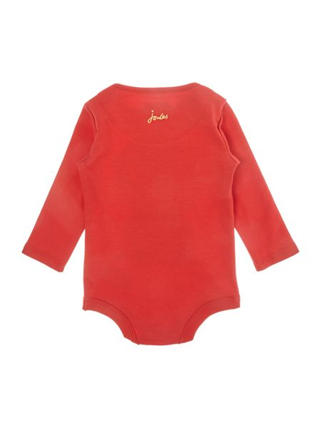 Joules Baby boy body suit Long Sleeve