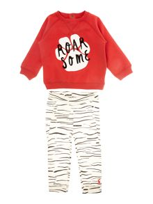 Joules Baby Boy Swear Set Tiger