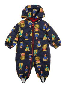 Joules Toddler Boy Snowsuit Lion Hood