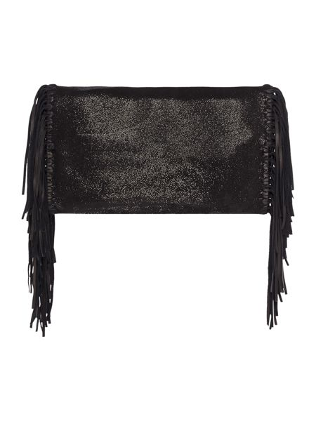 Polo Ralph Lauren Fringe clutch
