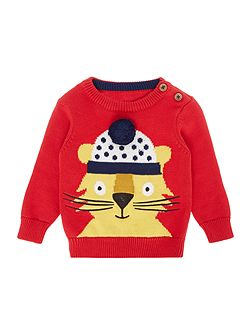 Toddler Boy Knitwear Long Sleeve Crew
