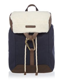 Tommy Hilfiger Shearling Utility Backpack