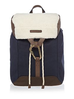 Shearling Utility Backpack