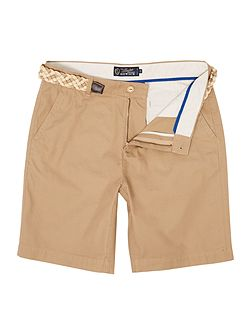 Boston Chino Flat Front Shorts