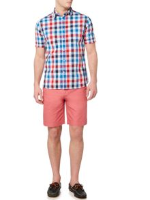 Howick Boston Chino Flat Front Shorts
