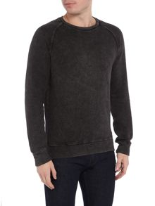 Denim and Supply Ralph Lauren Raglan crew neck sweat top