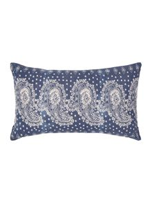 Junipa Paisley print cushion