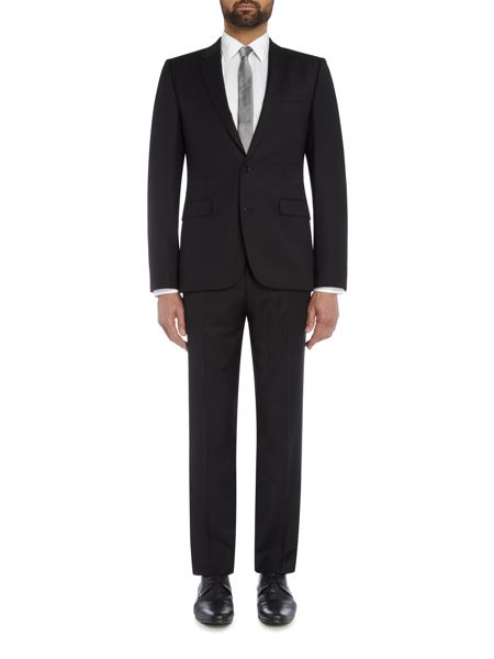 Hugo Astian Hets Tonal Checked Two Piece Suit