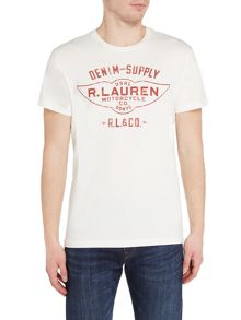 Denim and Supply Ralph Lauren Printed crew neck t-shirt