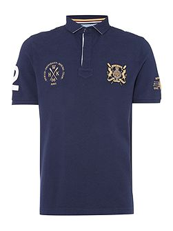 Medford Rowing Short Sleeve Polo Shirt
