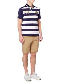 Howick Warwick Stripe Short Sleeve Rugger