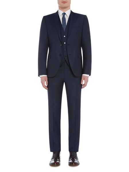 Hugo Arney Wilord Slim Fit Three Piece Suit