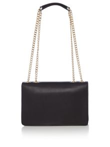 Love Moschino Hearts flapover bag