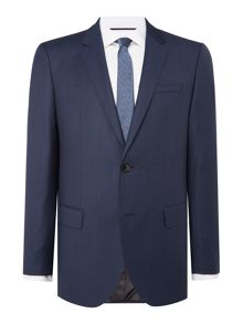 Hugo C-Huge Pin Dot Slim Fit Suit Jacket