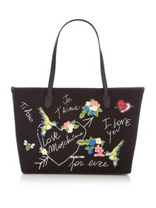 Love Moschino I love you tote bag