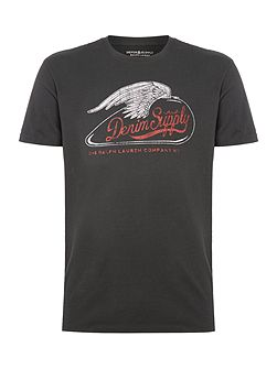 Wing logo short sleeve t-shirt