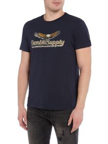 Denim and Supply Ralph Lauren Eagle wings logo t-shirt