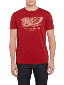 Denim and Supply Ralph Lauren Chest print t-shirt