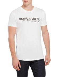 Denim and Supply Ralph Lauren Logo crew neck t-shirt