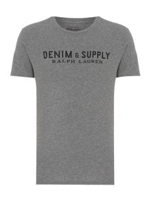Denim and Supply Ralph Lauren Logo crew neck t-shit