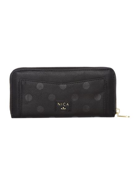 Nica Sylvie zip around purse