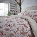 Junipa Deshi bird print duvet cover set