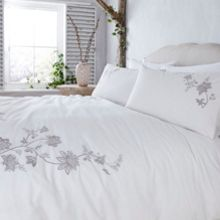 Junipa Louisa embroidery bed linen range
