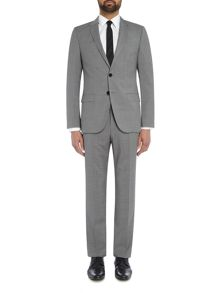 Hugo Harvey Getlin Micro Check Two Piece Suit