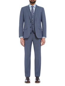 Hugo Huge Genius Slim Fit Three Piece Suit