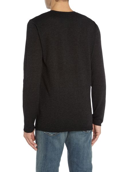 Hugo Selax Glitter Crew Neck Knit