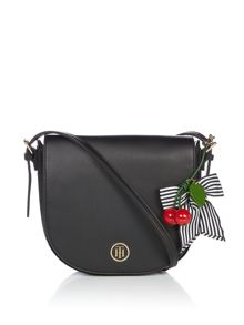 Tommy Hilfiger Novelty large saddle bag