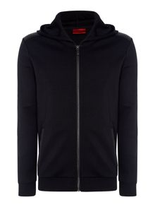 Hugo Danremo Zip Detail Crew Neck Jumper