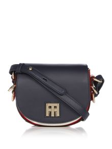Tommy Hilfiger Leather small saddle bag