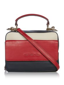 Tommy Hilfiger Leather mini trunk crossbody bag