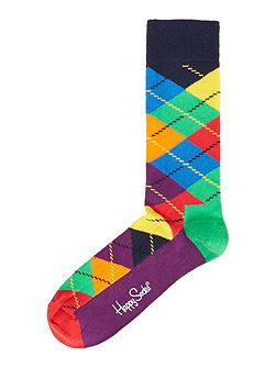 Multi Argyle Socks