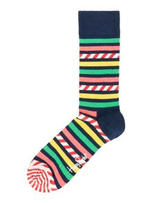 Happy Socks Multistriped Socks