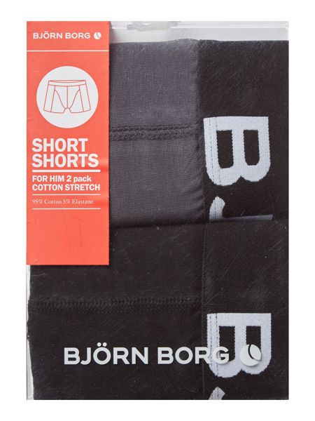 Bjorn Borg 2 Pack Solid Seasonal Trunk