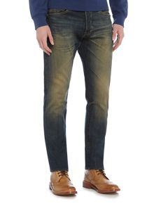 Denim and Supply Ralph Lauren Morrison slim dirty dark wash jeans