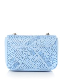 Love Moschino Love stitch small crossbody bag