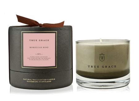 True Grace Manor small bowl candle moroccan rose