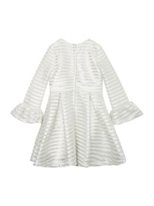 Bardot Junior Girls Long-Sleeve Metallic Dress