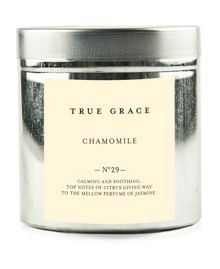 True Grace Walled garden tinned candle chamomile