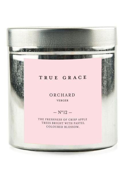 True Grace Walled garden tinned candle orchard