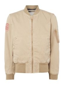 Denim and Supply Ralph Lauren Zip through bomber jacket