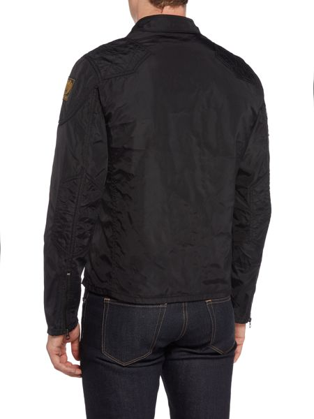 Denim and Supply Ralph Lauren Zip through biker jacket