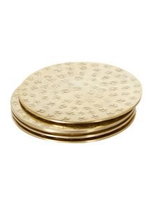 Junipa Metal coasters set of 4