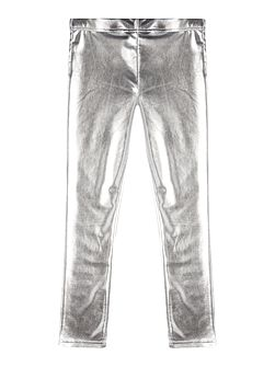 Girls metallic leggings