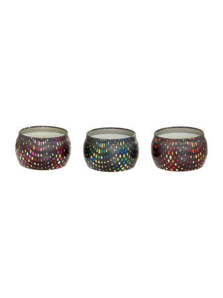 Voluspa Maison holiday petite candle set of 3