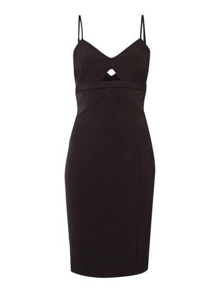 Bardot Sleeveless Cut Out Bodycon Dress